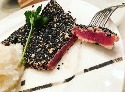 Sesame Seared Tuna Sashimi